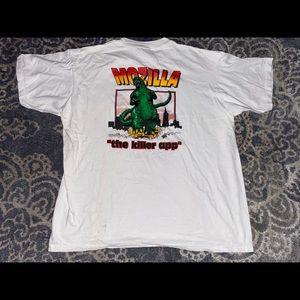 Vintage Mozilla shirt